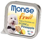 MONGE DOG FRUIT со свининой и ананасом, 100 грамм