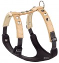Шлея, кожа бежевый Giotto P L-XL Harness luxor (А:50-70см В:75-95 см)
